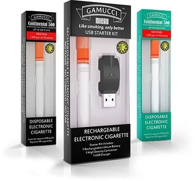 Gamucci Offer A Premium Electronic Cigarette That Tastes Like Real Tobacco | Technology Trend | Scoop.it