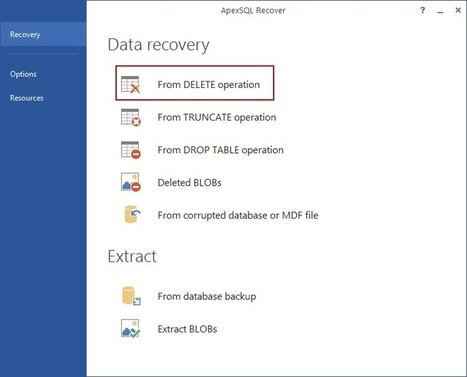 How to Recover SQL Database Data Deleted by Accident | Database Engine | Scoop.it