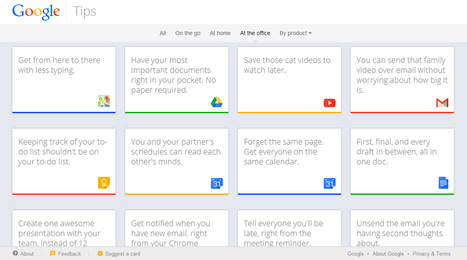 Google Tips site launches for all Google products | Real Estate Plus+ Daily News | Scoop.it