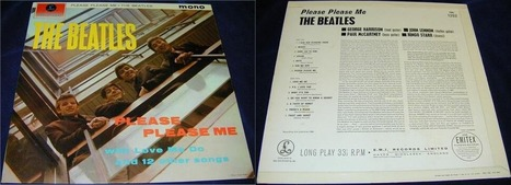 "22 mars 1963, ""Please Please Me"" 1er album des Beatles au Royaume Uni 