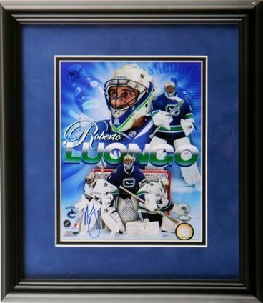 Framed Roberto Luongo Autographed 11x14 | Sport Outdoor | Scoop.it