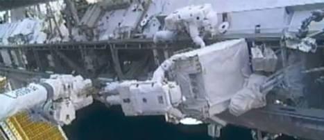 PHOTOS. Panne à l'ISS : deux astronautes dans l'espace pour la réparer | Aviation & Espace | Scoop.it