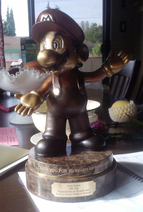 20 Years of Service at Nintendo Gets You a Mario Statue | All Geeks | Scoop.it