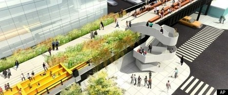 High Line: Designs For Third Section Of Park Unveiled (PHOTOS) | New York City Chronicles | Scoop.it