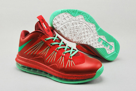 Nike Zoom LeBron 10 Low Water melon Men's Size Basketball Shoes | fashion collection | Scoop.it