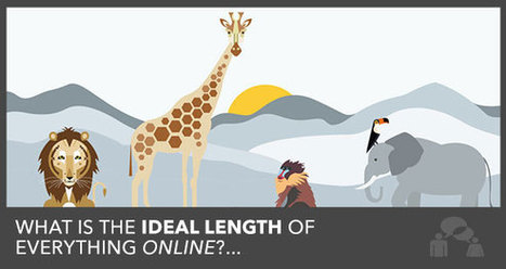 The Ideal Length of a Blog Post, Facebook Update and Email Subject Line | #Social | Scoop.it