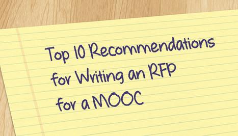 Writing an RFP for a MOOC | EdTechX | Scoop.it