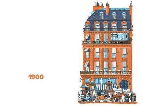 Architecture : revivez 750 ans d'Histoire de Paris en 60 façades | FLE in London | Scoop.it