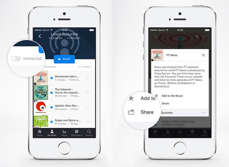 Deezer takes on Google Play Music with 20,000 new podcasts | Radio 2.0 (En & Fr) | Scoop.it