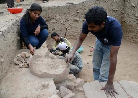 Budding archaeologists test their skills at Purana Quila | Archaeology News | Scoop.it