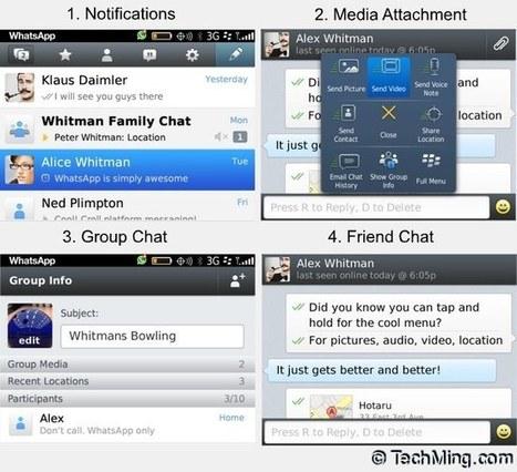 WhatsApp Free Download for BlackBerry | TechMing | TechMing | Scoop.it