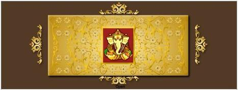 Sample of Hindu Wedding Invitations Cards   Wedding Invitation   Scoop.it