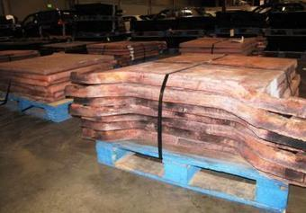 Stolen copper ingots valued at $1.25 million recovered at Port of LA - Los Angeles Daily News | Copper & Metals Theft | Scoop.it