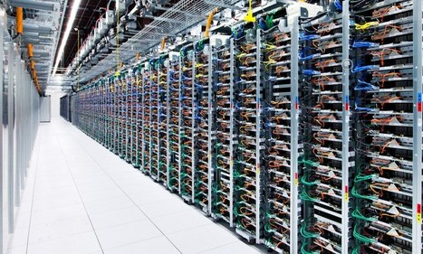 Inside the internet: Google allows first ever look at the eight vast data centres that power the online world | good sciences teaching stuff - education XXIème | Scoop.it