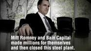 Obama campaign steps up ad attack on Romney's record at Bain - Los Angeles Times | More @SteveBeste | Scoop.it