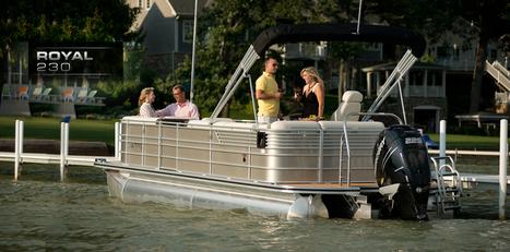 Royal 230 : Luxury Pontoon Boat | Fishing Pontoon Boats | Best Pontoon : 2013 | itamashe | Scoop.it