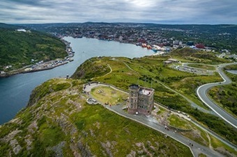 Drone Aerial View of Signal Hill, Newfoundland | GIS | Scoop.it