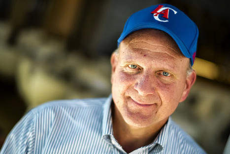 How Steve Ballmer Became a Rookie Basketball Mogul | InterestingBits | Scoop.it