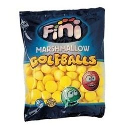 Golf Ball Bananas Fini 100g | Gummy Candy | Scoop.it
