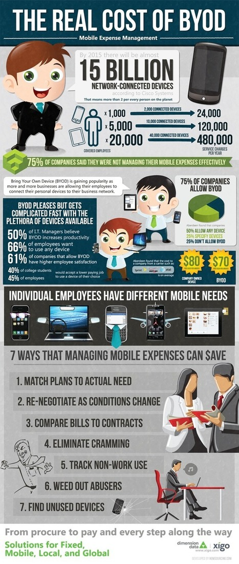 Cloud Infographic: The Real Cost Of BYOD | The business value of technology | Scoop.it