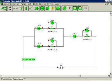 Electricidad. Prácticas con Crocodile | Tecnología ESO | Scoop.it