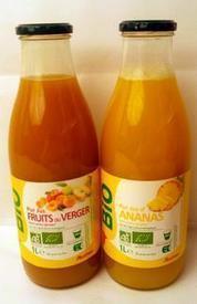 Auchan ajoute deux purs jus bio MDD / Nouveaux Produits - Rayon Boissons - Le magazine des boissons en grande distribution | Private Label Sourcing | Scoop.it