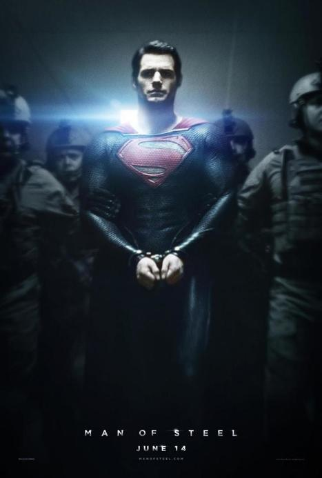 New Poster For Man Of Steel Sees Superman In Chains | Comic Books | Scoop.it