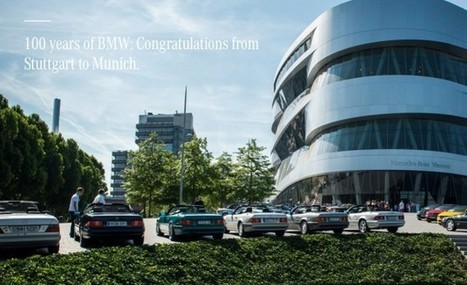 On the Occasion of BMW's 100th Anniversary, Mercedes Notes That It's Older | Life etc. | Scoop.it