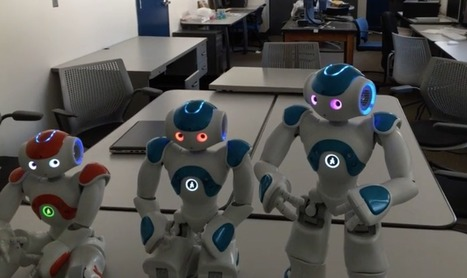 Un robot parvient à prendre conscience de lui-même - SciencePost   Big Brother   Scoop.it