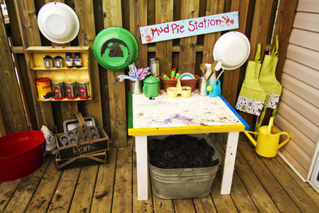 Our Play Space: MudPie Station | Kindergarten | Scoop.it