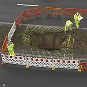Highways Agency confirms huge M2 hole at Lynsted between Faversham and ... - Kent Online   Kent County UK   Scoop.it