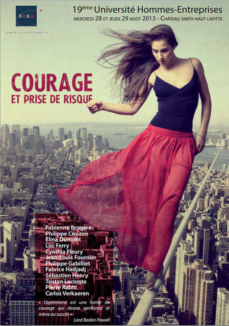 Le courage et la prise de risque - Blog de Geekette | Communication pro & geek attitude | Scoop.it