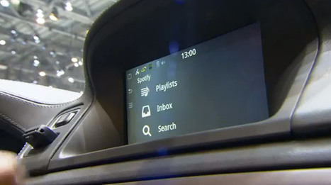 Volvo Brings Voice-Activated Spotify To The Automobile Dashboard ... | Discours corporate automobile | Scoop.it