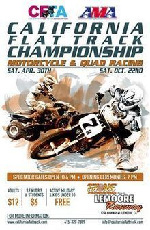 2016 CFTA/AMA CA. CHAMPIONSHIP RD. #2:... - California Flat Track Association | Facebook | California Flat Track Association (CFTA) | Scoop.it