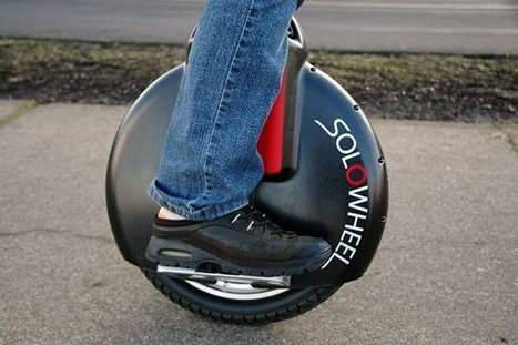 Solowheel, le transporteur gyroscopique du futur   Vehicule innovant 2013   Scoop.it