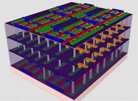 Lógica e memória empilhadas fazem computador 3D | tecnologia s sustentabilidade | Scoop.it