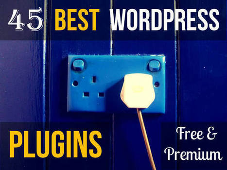 45 Best Wordpress Plugins (Free & Premium) | Blogging Tips | Scoop.it