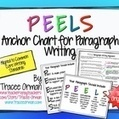 "Writing Paragraphs: Common Core ""PEELS"" Anchor Chart 