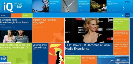 Curated Brand Magazine Sites Analyzed: Adobe's CMO and Intel's IQ | Social Networker | Scoop.it