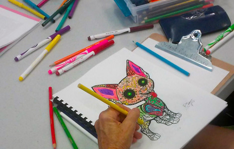 Coloring Book Clubs Cross the Line into Libraries | American Libraries Magazine | Trucs de bibliothécaires | Scoop.it