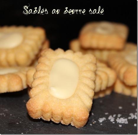 Sablés au beurre salé | gateau algerien 2015 | Scoop.it