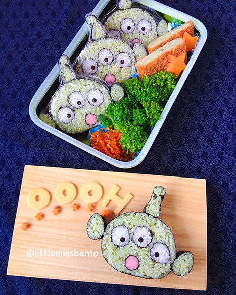 25 Creative Pieces Of Sushi That Are Too Cute To Eat | Curiosités planétaires | Scoop.it