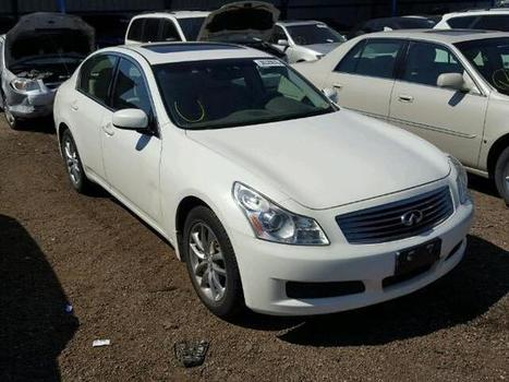 2008 white Infiniti G35 Awd on Sale in Colorado Springs, CO | Online Auto Sale | Scoop.it