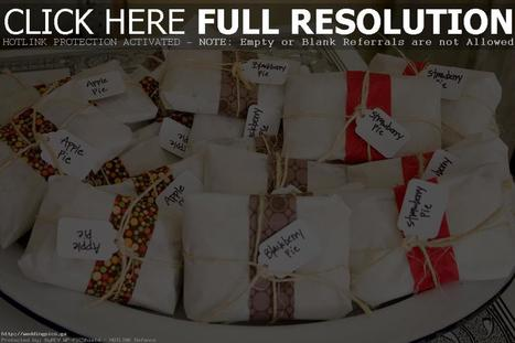 Wedding Favors Homemade Personal Pies Image Ideas - Wedding HD Pictures | News | Scoop.it