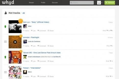 Top 10 des sites incontournables pour découvrir de la (bonne) musique | Musique Digitale & Streaming Musical | Scoop.it