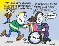 Deux ans pour sensibiliser les collégiens au handicap | Enfance et handicap | Scoop.it