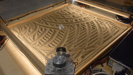 Four Stepper Motors Can Make Beautiful Sand Art | Daily Magazine | Scoop.it