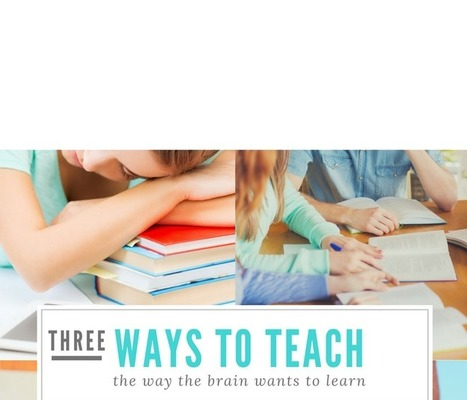 3 Ways to Teach the Way the Brain Wants to Learn | Durff | Scoop.it