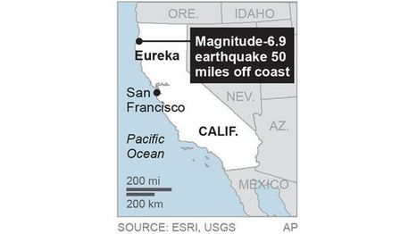 Powerful 6.9 magnitude earthquake strikes off Northern California - Fox News | CLOVER ENTERPRISES ''THE ENTERTAINMENT OF CHOICE'' | Scoop.it
