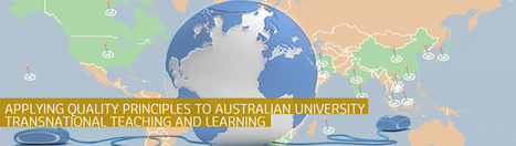 Applying Quality Principles to Australian University Transnational Teaching & Learning | What's happening in higher education? | Scoop.it